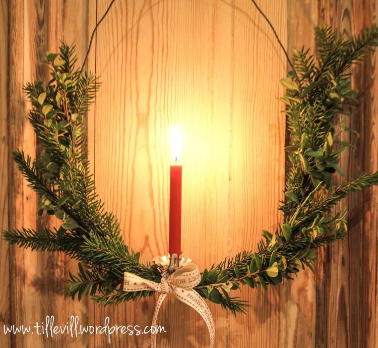 Gamla julgransljushållare