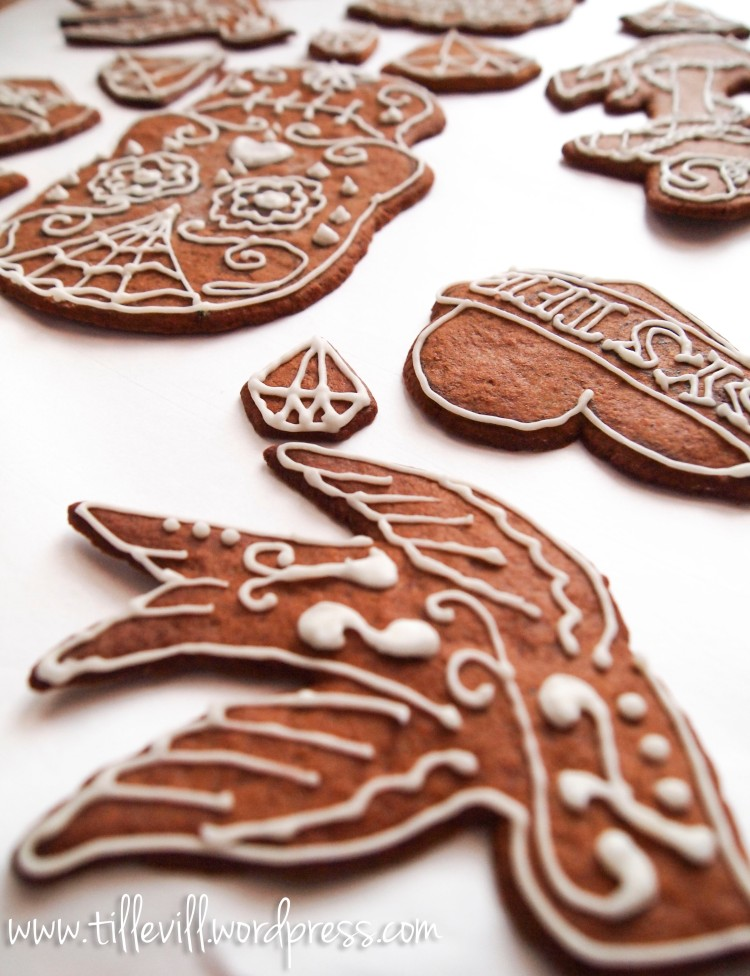 tattooinspired gingerbreads