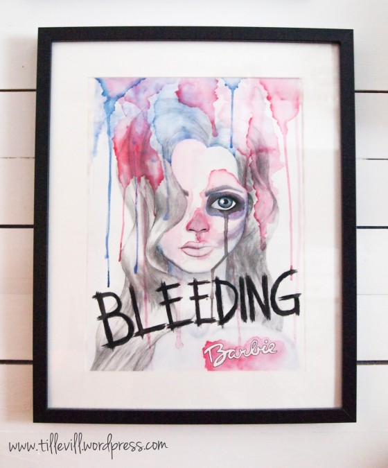 Bleeding barbie