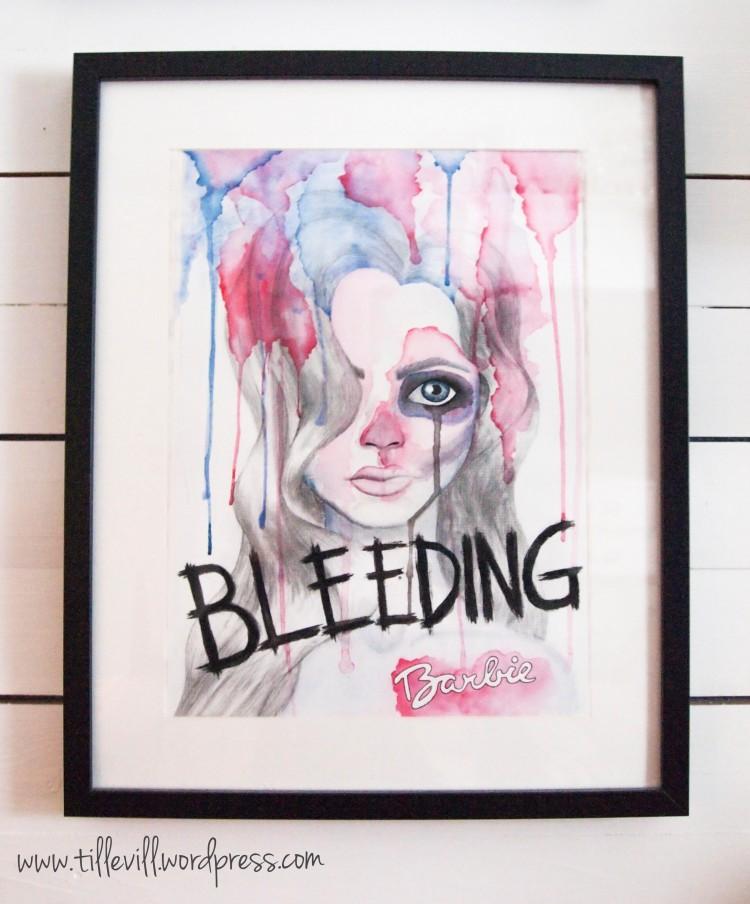 Bleeding barbie