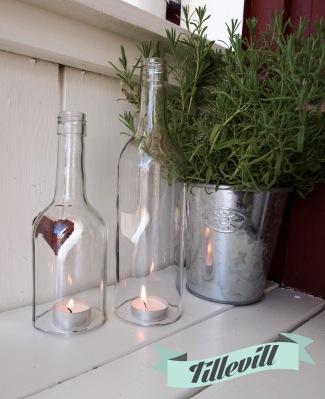 Flasklykta DIY