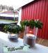 Ljuslykta av syltburkar DIY