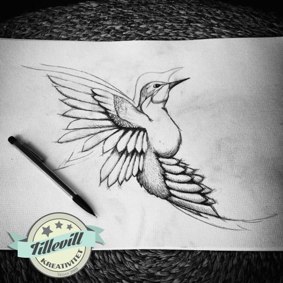 Blyertsfågel