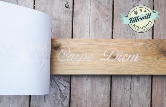 Tips om hur man skriver på trä