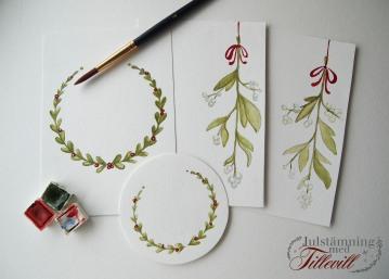 Personliga julkort