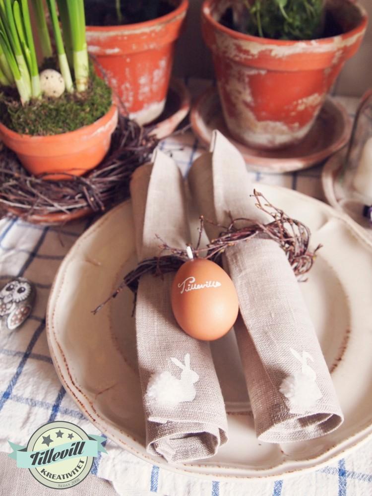 Duka med ägg